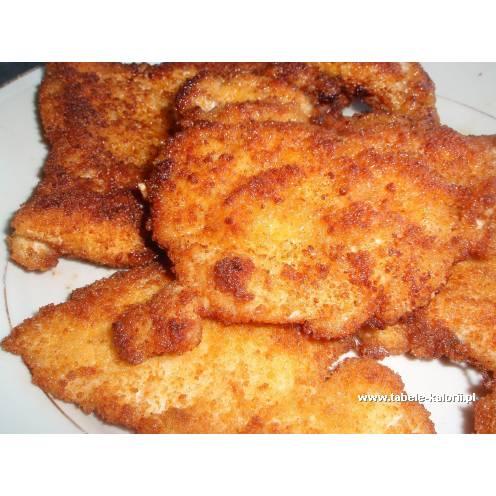 Pierś z kurczaka smażona w panierce - kalorie, wartości..
