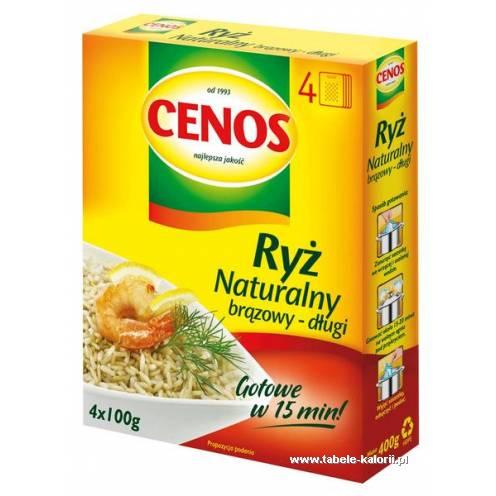 Ryż naturalny brązowy - długi - Cenos - kalorie, wartości..