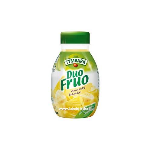 Duo Fruo ananas & banan - Tymbark - kalorie, wartości..