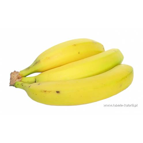 Banan - kalorie, wartości odżywcze, ile kalorii, kcal..