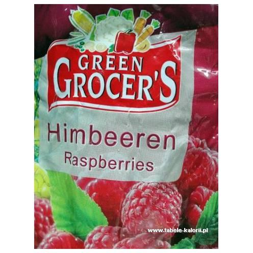 Maliny mrożone - Green Grocer's - kalorie, wartości..