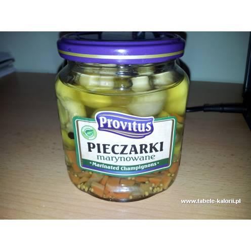 Pieczarki marynowane - Provitus - kalorie, wartości..
