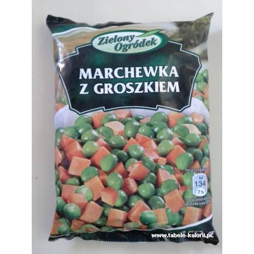 Marchewka z groszkiem - Zielony Ogródek - kalorie..