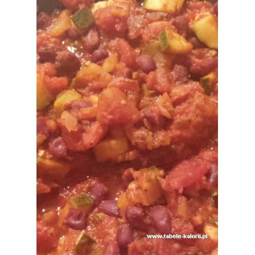 Cukinia w pomidorach - Przepis od drimeris - kalorie..