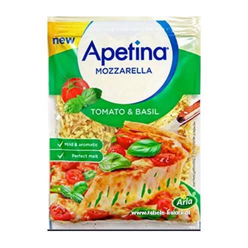 Mozzarella z pomidorami i bazylią - Arla Apetina - kalorie..