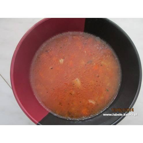 Zupa Pomidorowa Z Ryżem Na Kurczaczku Przepis Od Beata1353