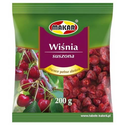 Wiśnia suszona - Makar - kalorie, wartości odżywcze, ile..