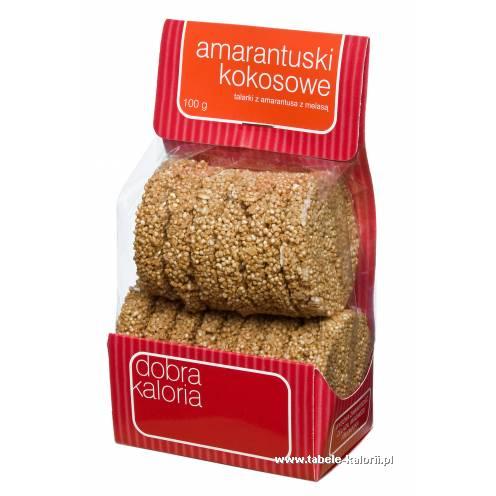 Amarantuski Kokosowe - Dobra Kaloria - kalorie, wartości..