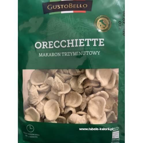Makaron Orecchiette - GustoBello - kalorie, wartości..
