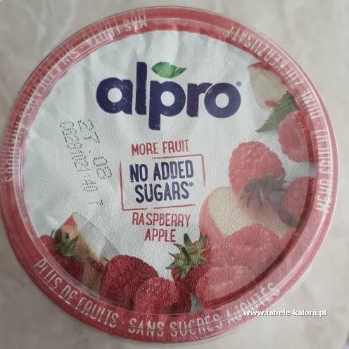 Jogurt sojowy malina jabłko - Alpro - kalorie, wartości..
