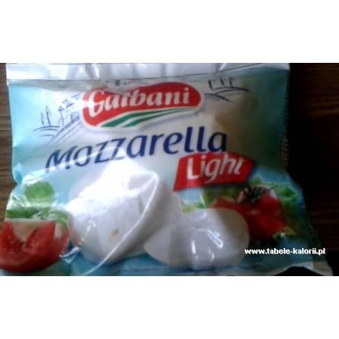 Ser Mozzarella light - Galbani - kalorie, wartości..