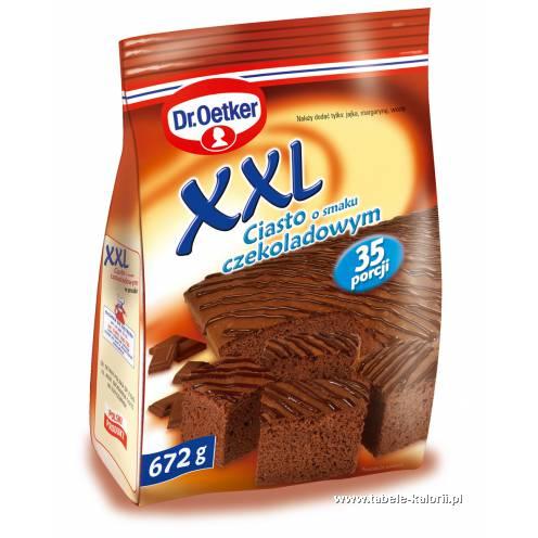 Ciasto O Smaku Czekoladowym Xxl