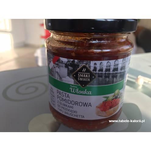 Pasta Pomidorowa Z Oliwkami Do Przekaski Typu Bruschetta