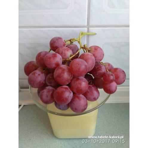 Winogrona czerwone - Asda - kalorie, wartości odżywcze..