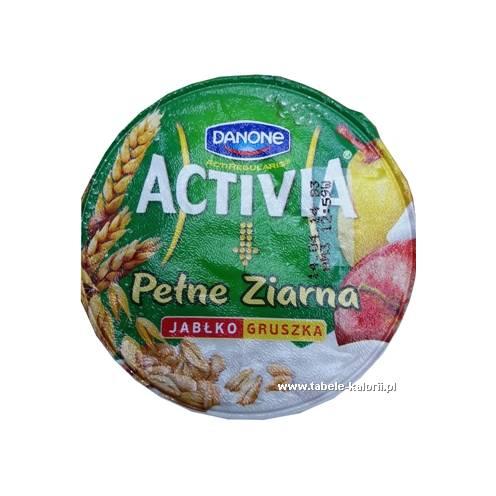 Jogurt Activia Pełne Ziarna - jabłko, gruszka - Danone..