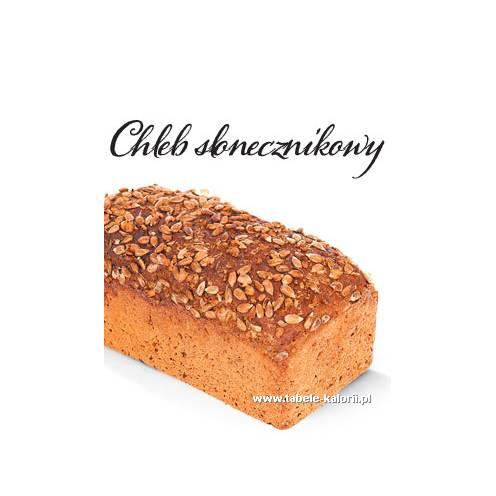Chleb słonecznikowy - Lidl - kalorie, wartości odżywcze..
