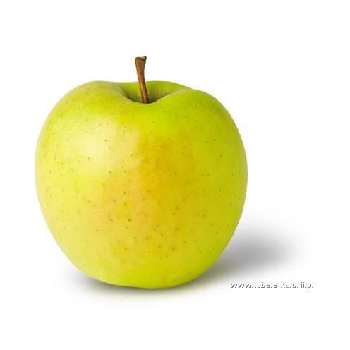 Jabłko golden delicious - Biedronka - kalorie, wartości..