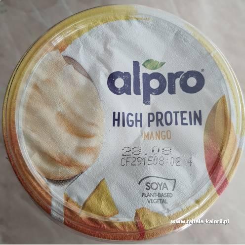 Jogurt sojowy High Protein Mango - Alpro - kalorie..