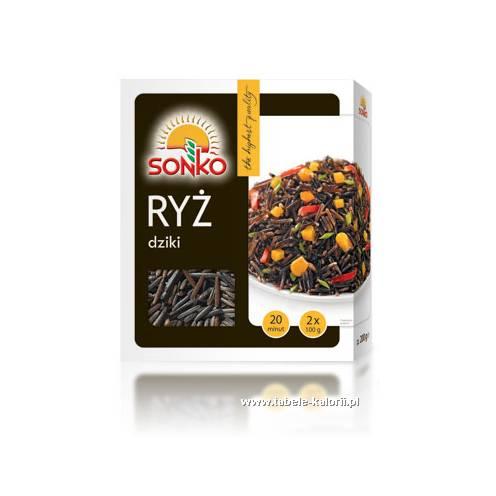 Ryż dziki - Sonko - kalorie, wartości odżywcze, ile..