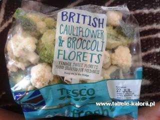 Mieszanka kalafior i brokuły - Tesco - kalorie, wartości..