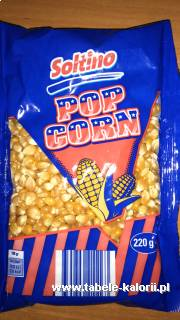 Popcorn - Soltino - kalorie, wartości odżywcze, ile..