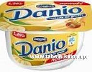 Serek Danio - banan - Danone - kalorie, wartości odżywcze..