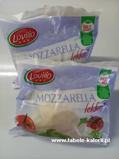 Mozzarella light - Lovilio - kalorie, wartości odżywcze..