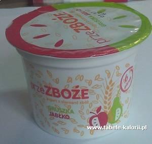 Jogurt przezboże gruszka-jabłko - Magda - kalorie..