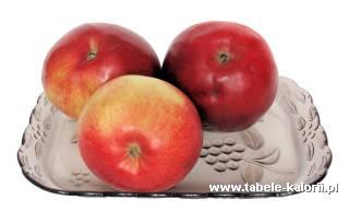 Jabłko - kalorie, wartości odżywcze, ile kalorii, kcal..