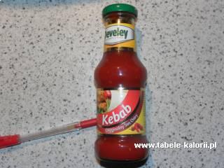Sos Kebab - Develey - kalorie, wartości odżywcze, ile..