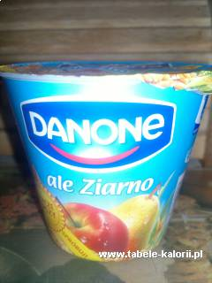 Jogurt Ale ziarno! jabłko i gruszka - Danone - kalorie..