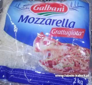 Mozzarella Grattugiata - Galbani - kalorie, wartości..